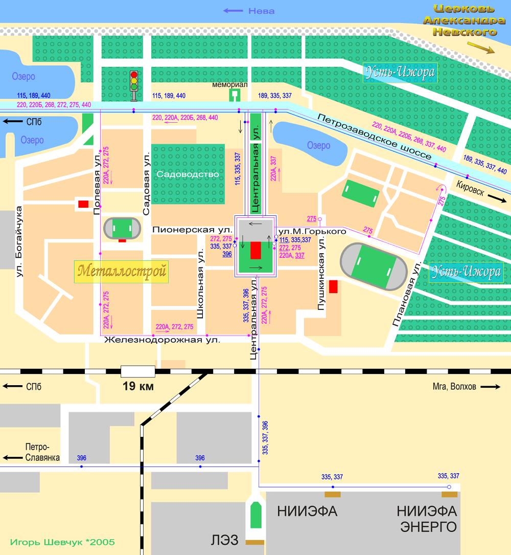 схема маршрут олимпийского огня в твери